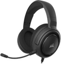 Corsair HS45-7.1 Virtual Surround Sound PC Gaming Headset w/USB DAC , 50mm driver