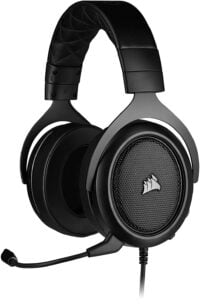 Corsair HS50 PRO Stereo Gaming Headset, 50mm driver