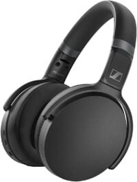 Sennheiser HD 450BT Over Ear Wireless Headphones, with Active Noise Cancellation, 32mm driver