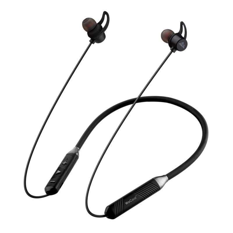 WeCool N1 Wireless Earphones with Dynamic Drivers for Immersive Music Experience, IPX5 Sweatproof