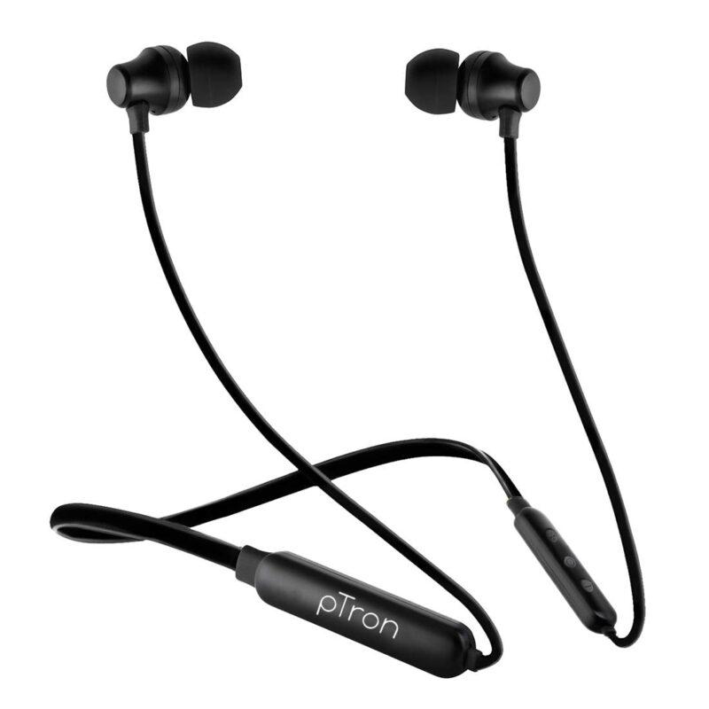 pTron Tangent Lite Bluetooth 5.0 Wireless Headphones with Hi-Fi Stereo Sound