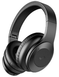 Tribit QuietPlus Active Noise Cancelling Headphones, 40mm Drivers