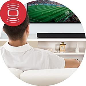 sound bar, surround bar, music system, home theatre in a box, home theatre system, speakers, home