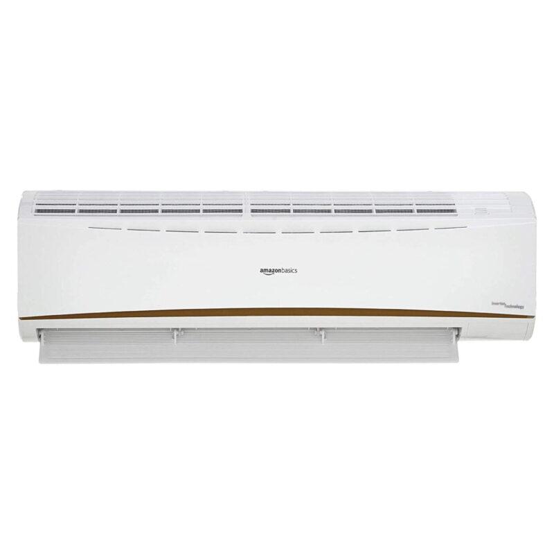 AmazonBasics 1 Ton 3 Star 2021 Inverter Split AC, White