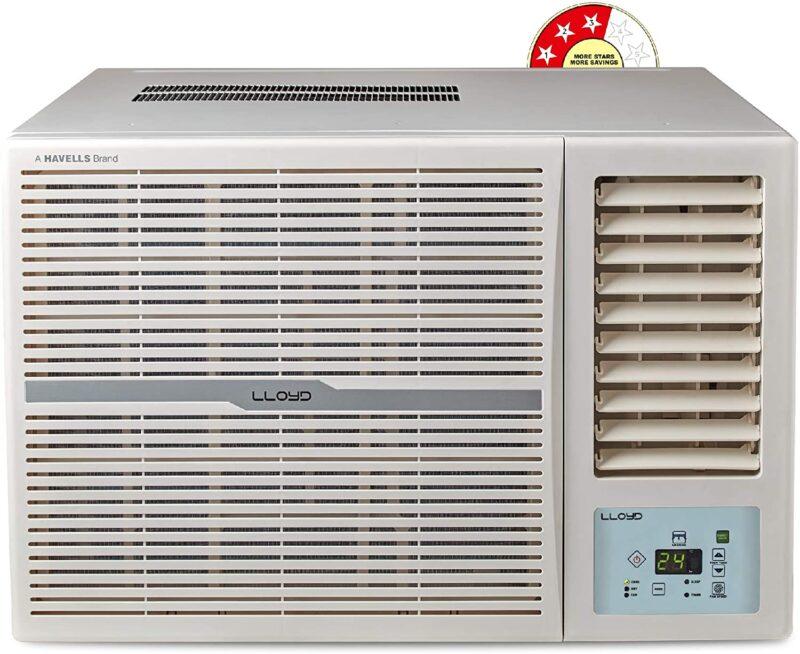 Lloyd 1.5 Ton 3 Star Window AC (Copper, Clean Air Filter, GLW18B32WSEW)
