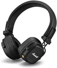 Marshall Major IV Foldable Bluetooth Headphones, 40mm Drivers
