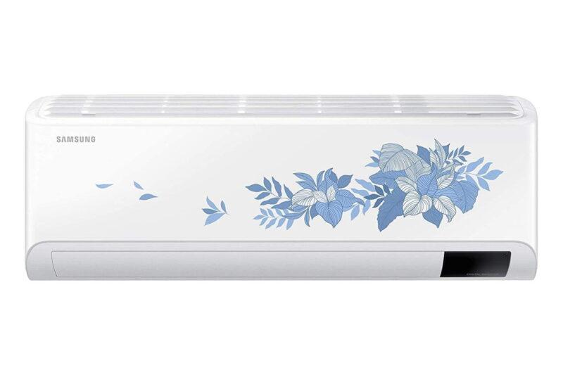 Samsung 1.5 Ton 3 Star Inverter Split AC (Copper, Convertible 5 in 1, HD Filter, Floral pattern, AR18AYLYATB)