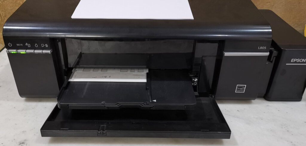 Epson L805 Tray Eject Solved
