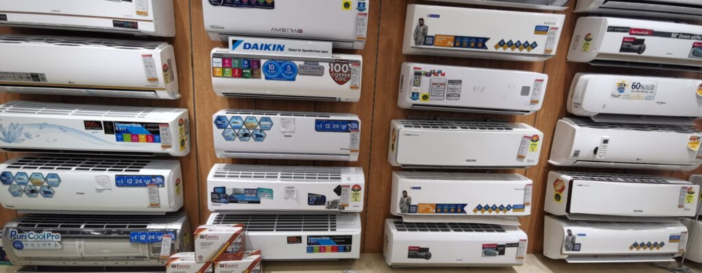 Compare 1.5 Ton Split AC inverter and fixed speed