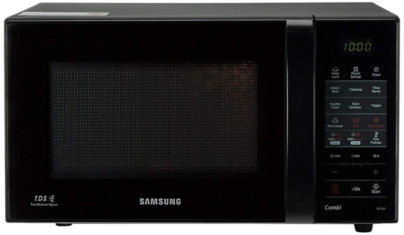 Samsung 21 L Convection Microwave Oven (CE73JD-B-XTL, Black)